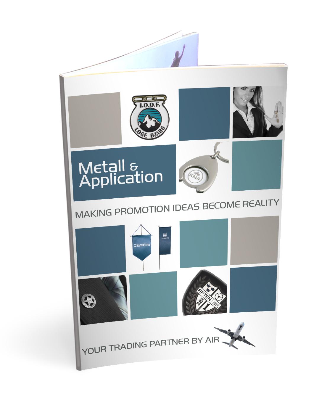 Metallmärken och applikationer