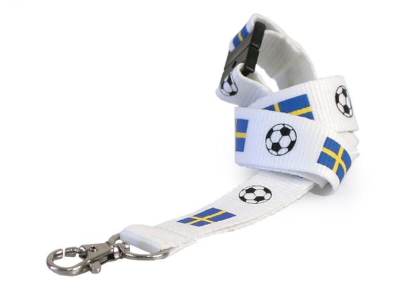 Logoband Svensk fotboll (Lagervara)