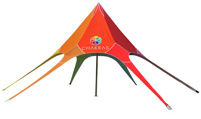 Star tent  4x4x4m