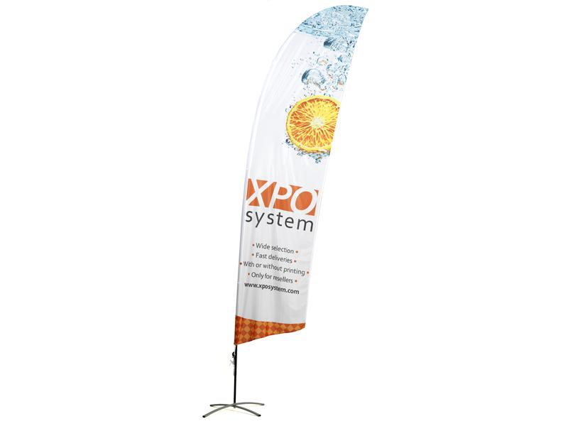 Beach flag 80 x 410 cm (XL)