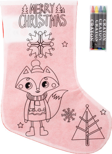 Nonwoven (80gr/m²) Christmas stocking