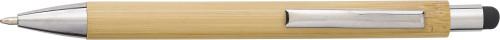 Penna av bambu och plast med touch