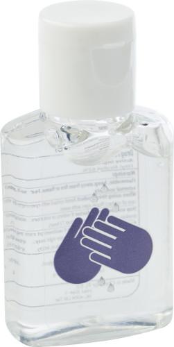 PET håndrensende gel med trykk