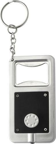 Plastic key holder with LED