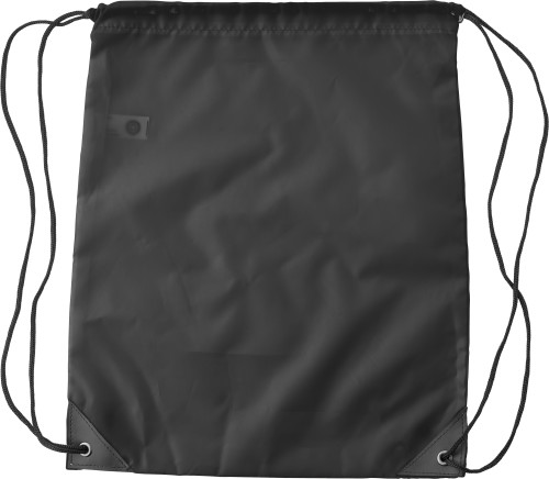 RPET polyester (190T) drawstring backpack