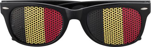 Plexiglass sunglasses with country flag