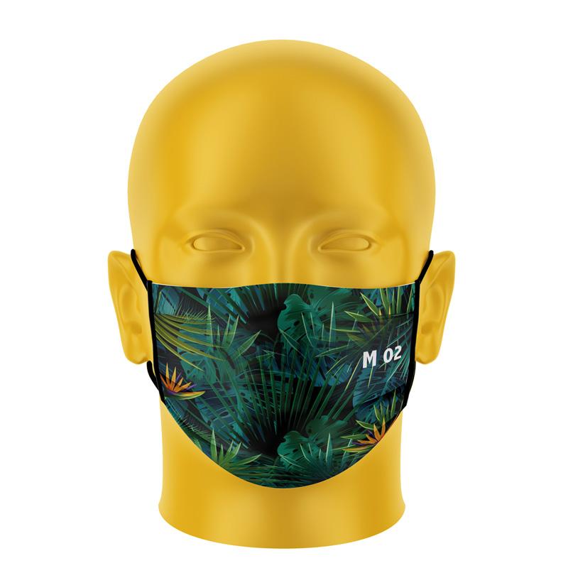 Ansiktsmaske Premium tekstil