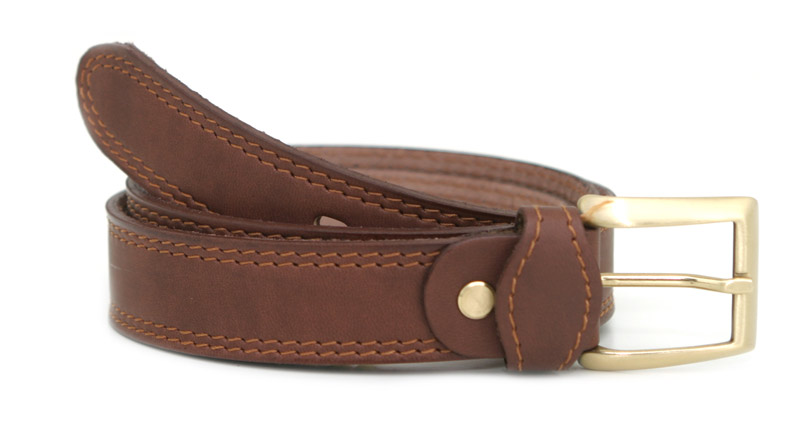 Fashion belt P (brown)