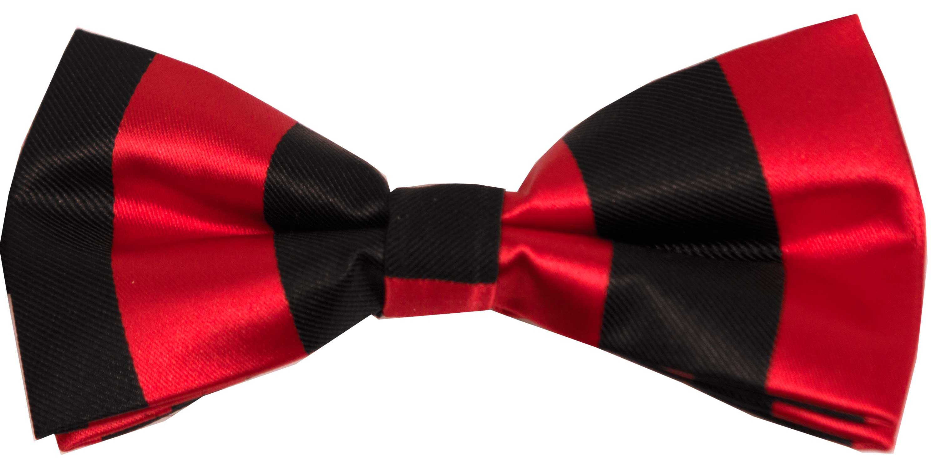 Bow tie (red and black)