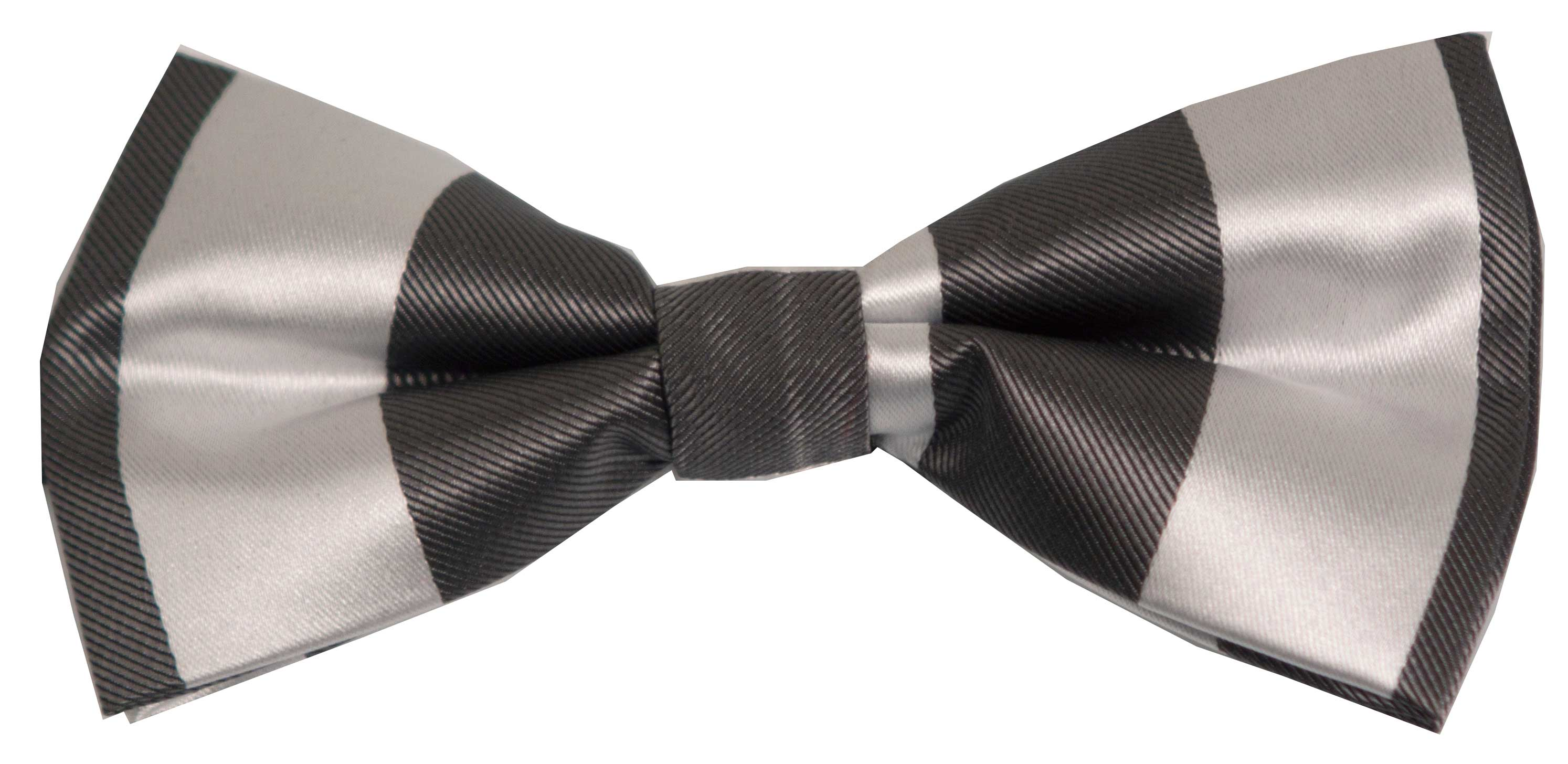 Bow tie (grey striped)