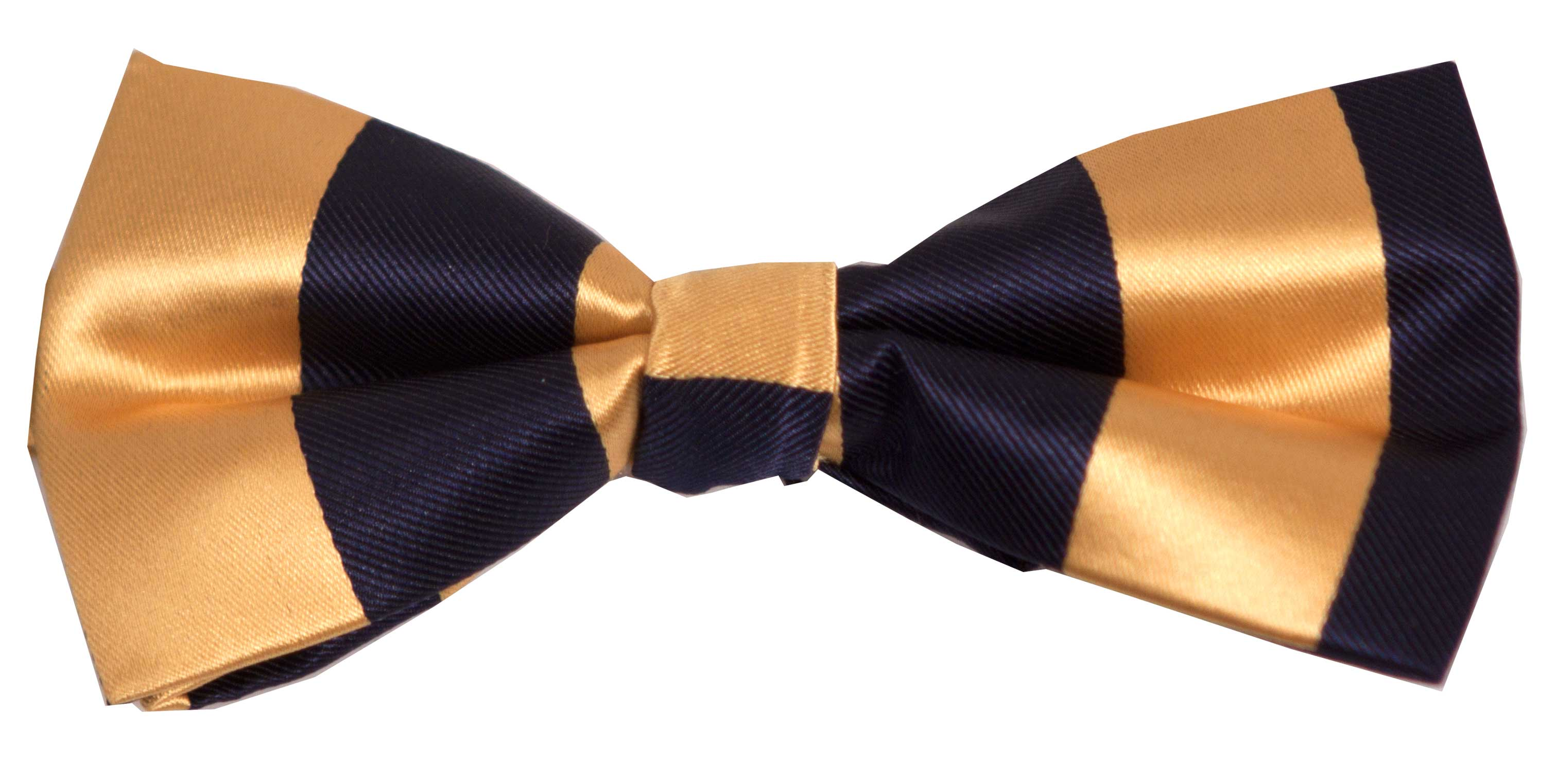Bow tie (blue and yellow)