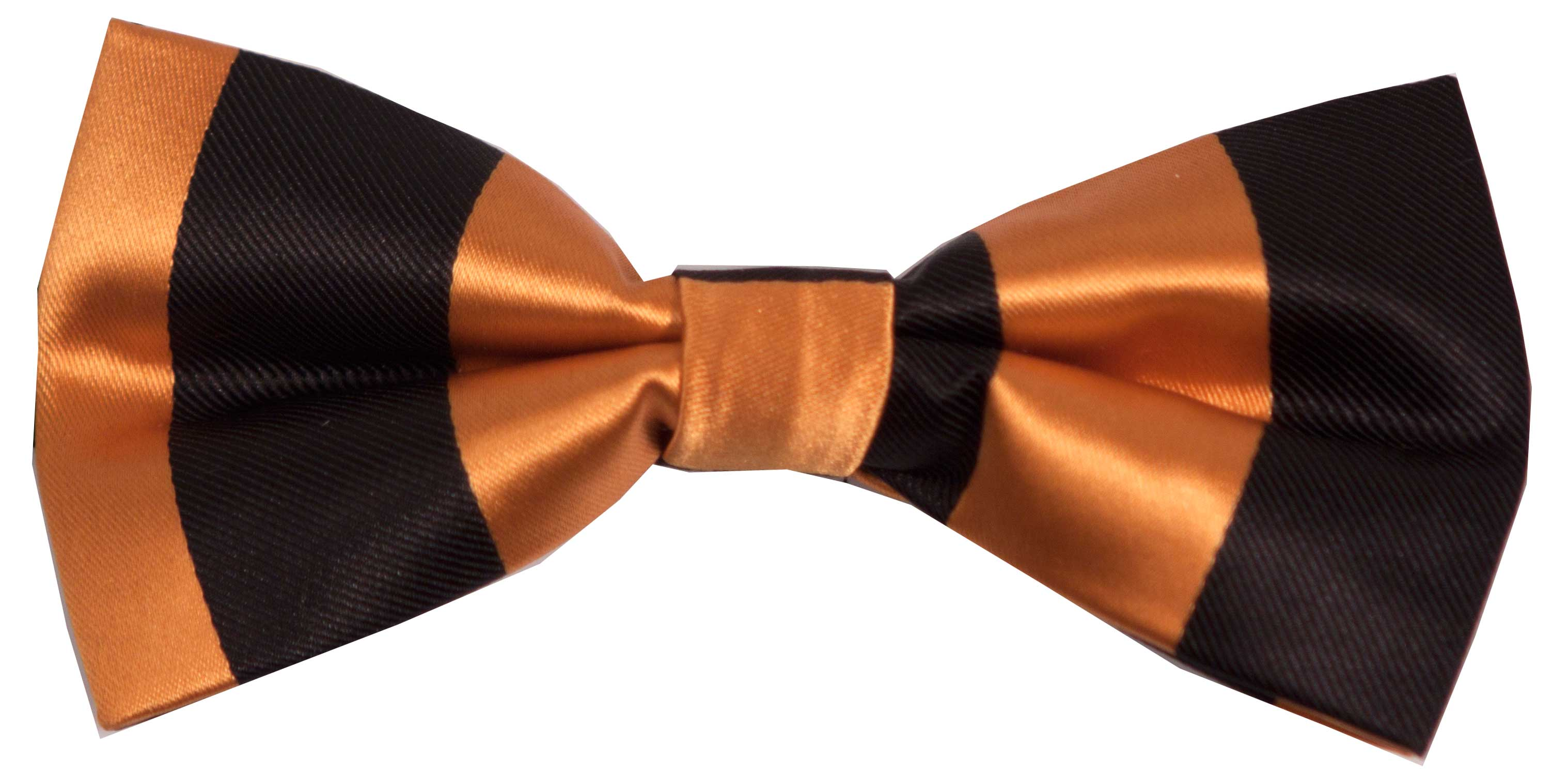Bow tie (black and orange)