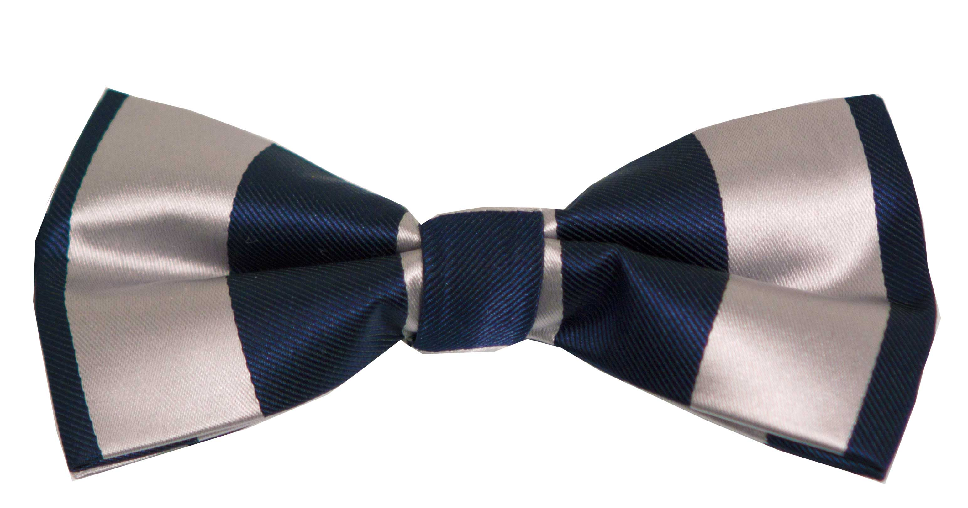 Bow tie (blue and grey)
