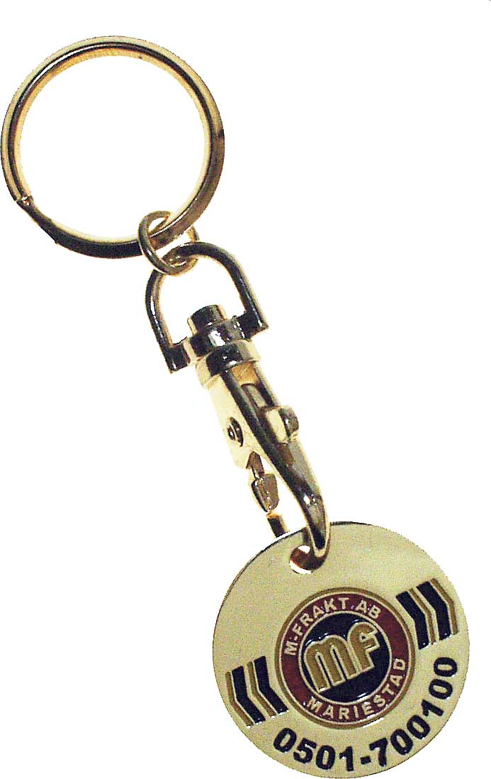 KeyCoin / Trolley coin (Swedish 5 kr) (Exclusively produced)