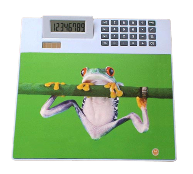 Mouse pad (calculator pad)