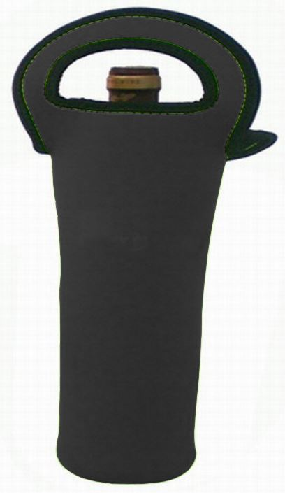 Wine holder in neoprene (1 bottle) (Custom made)