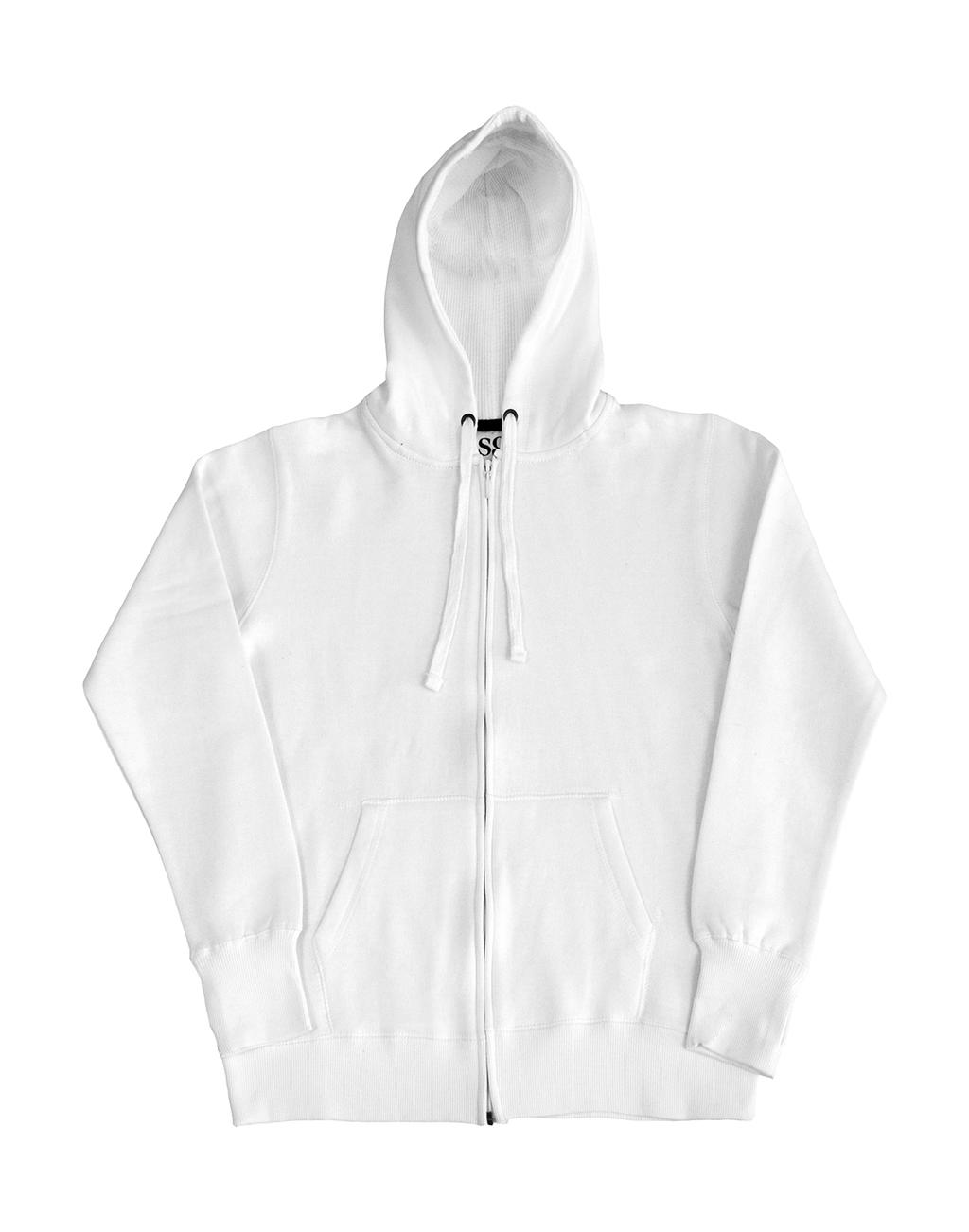 Ladies` Heavyweight Full Zip Hoodie