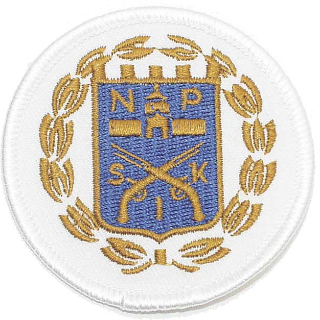 Embroidered emblems (62,5 mm)