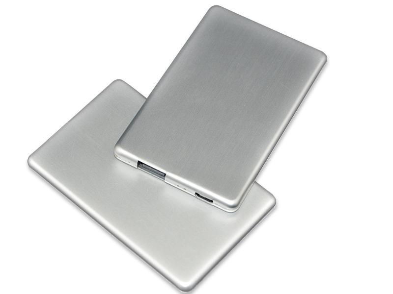 Powerbank Slimcard 2600 mAh Aluminium