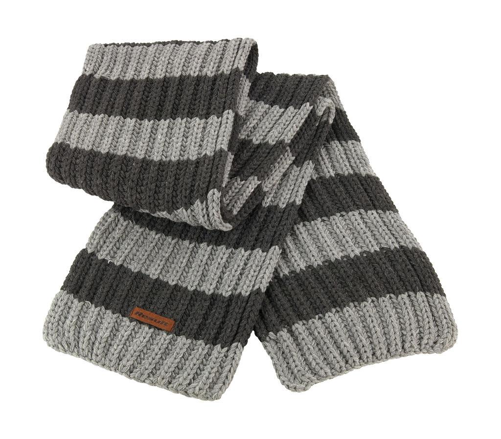 Chunky Knit Stripe Scarf