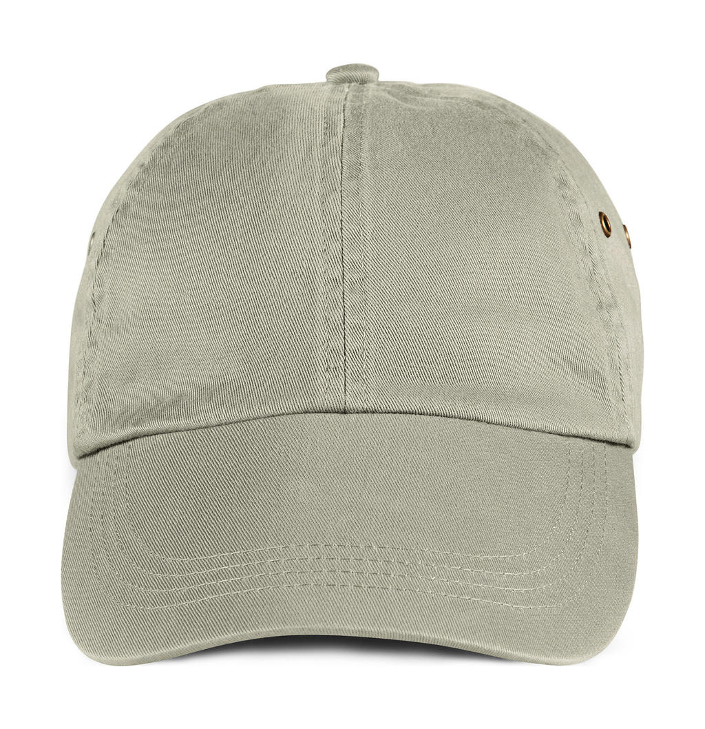 Solid Low-Profile Twill Cap