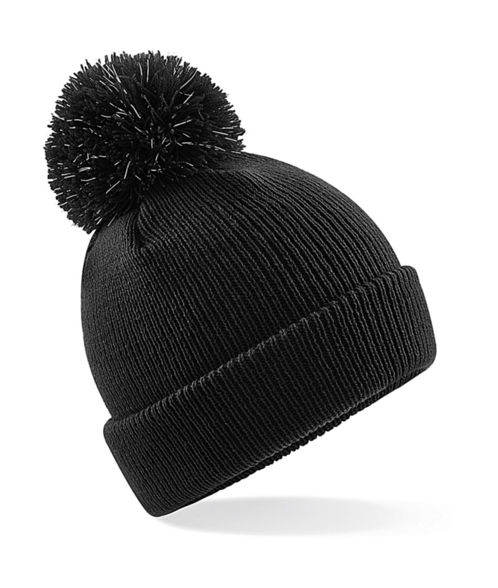 Junior Reflective Bobble Beanie