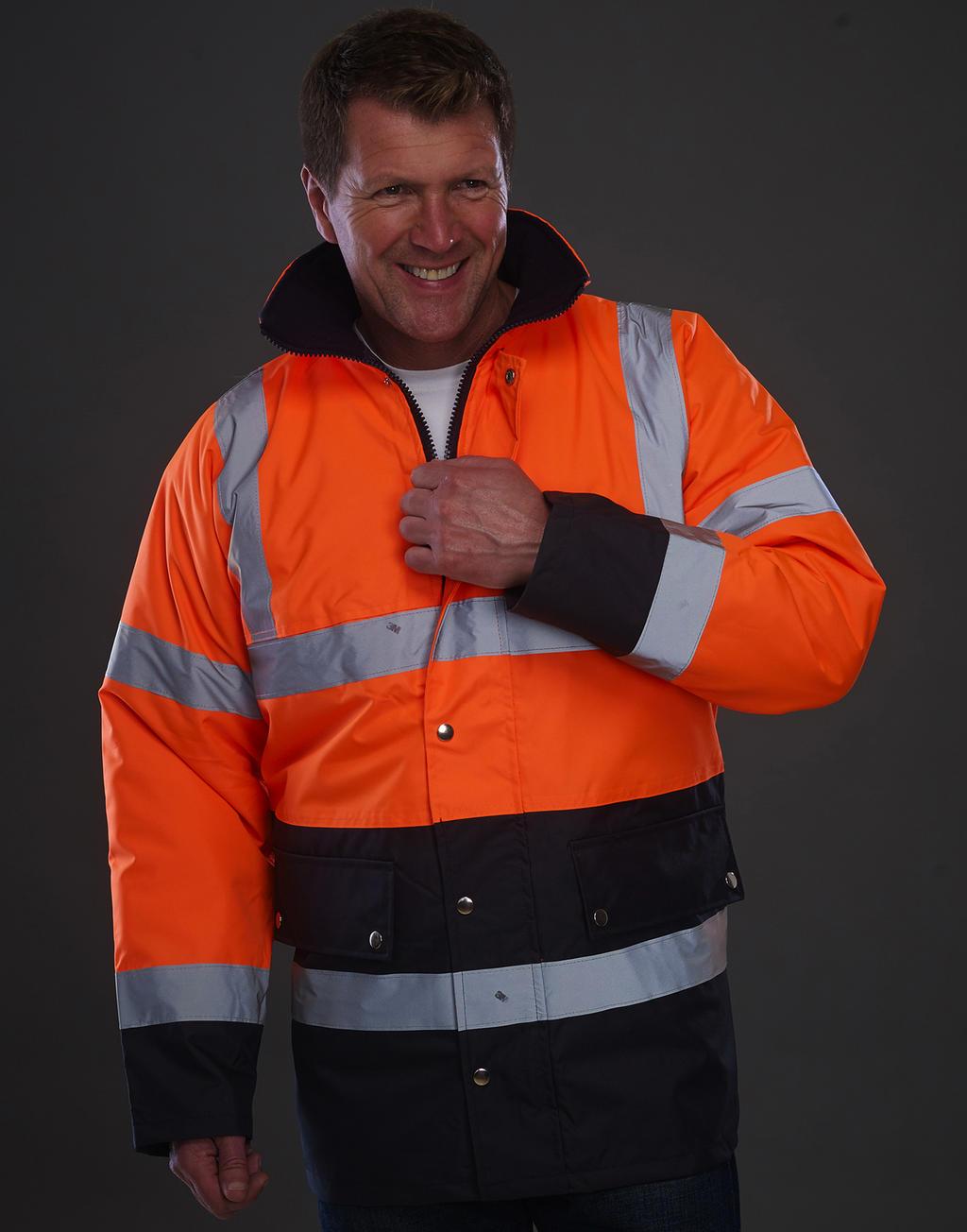 Fluo 2 Tone Motorway Jacket