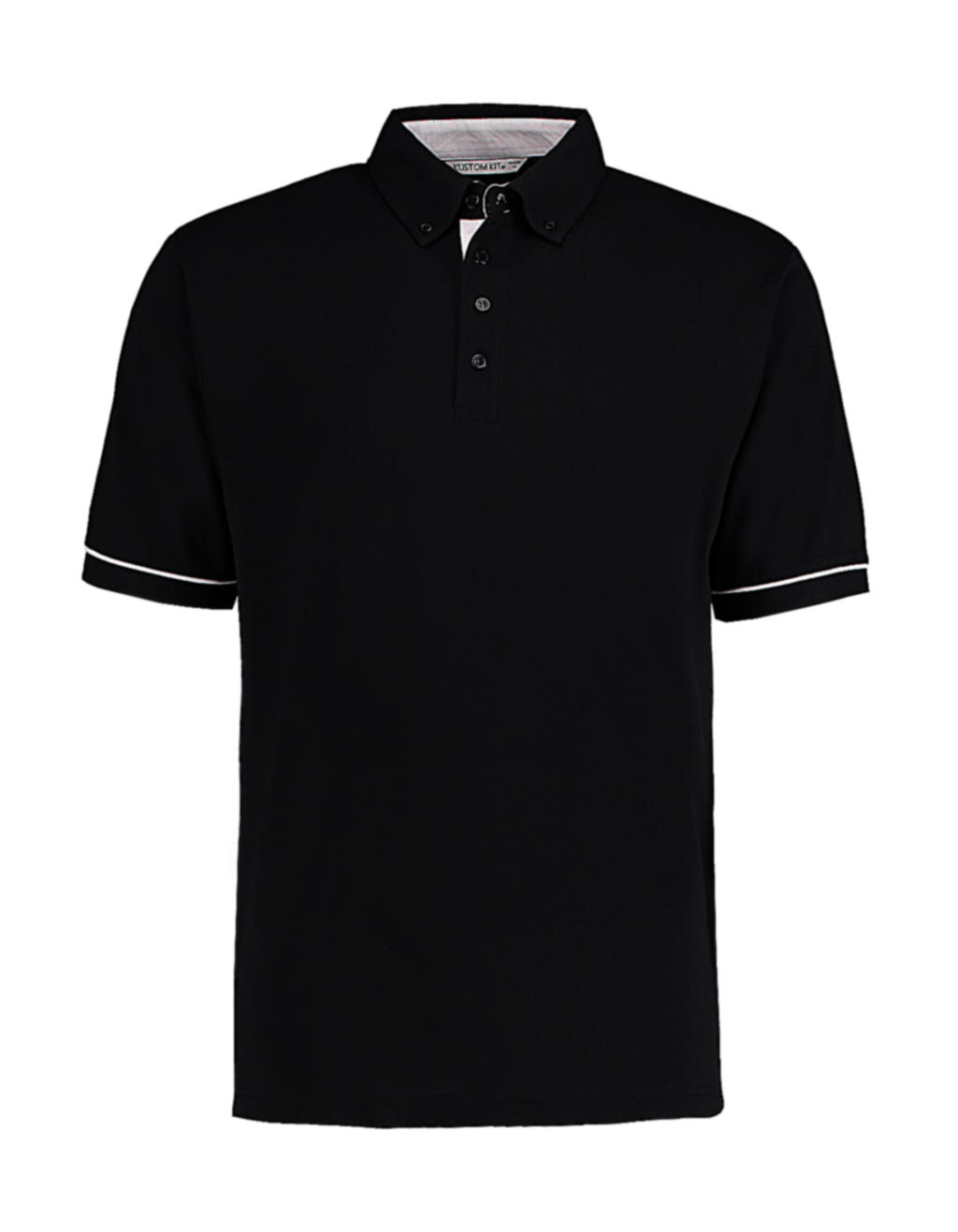 Button Down Collar Contrast Polo