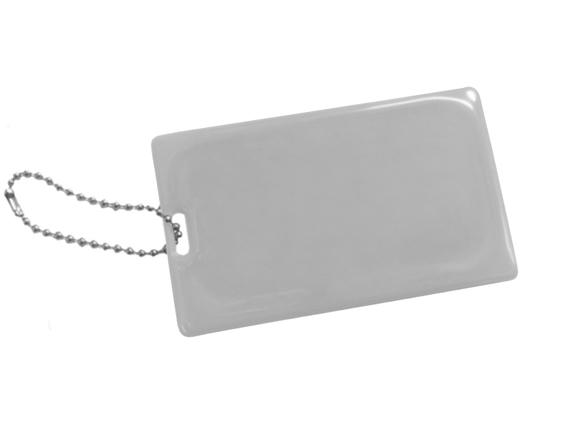 Reflective luggage tag EN