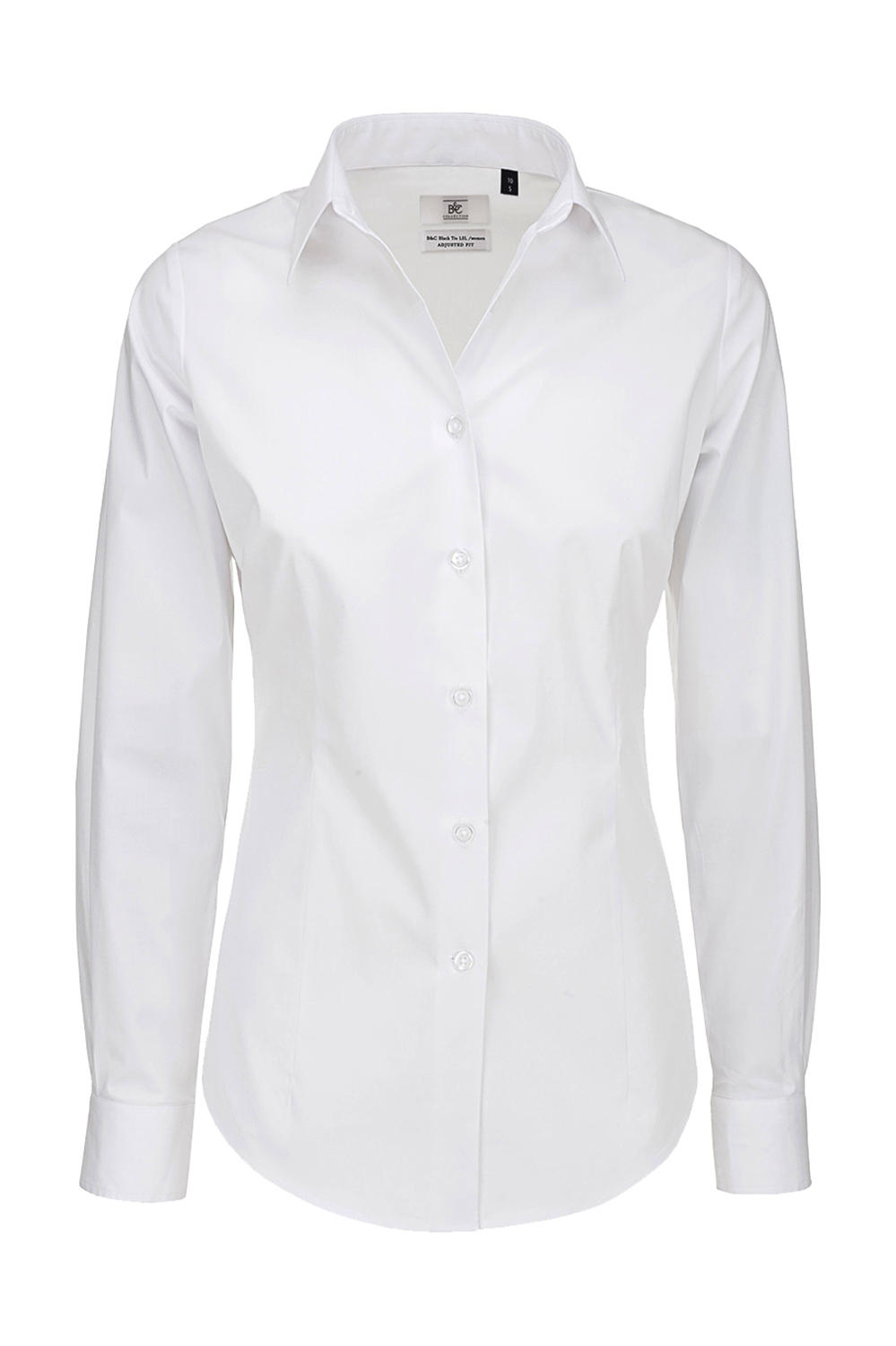 Black Tie LSL/women Poplin Shirt