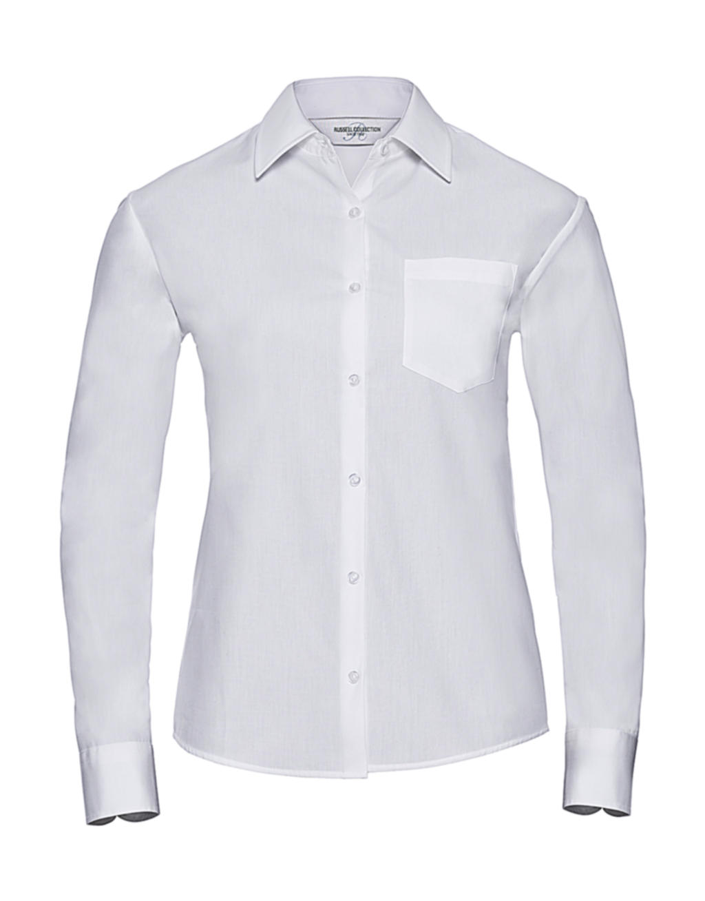 Ladies` Cotton Poplin Shirt LS