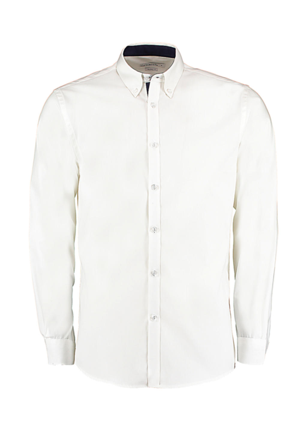 Contrast Premium Oxford Button Down Shirt LS