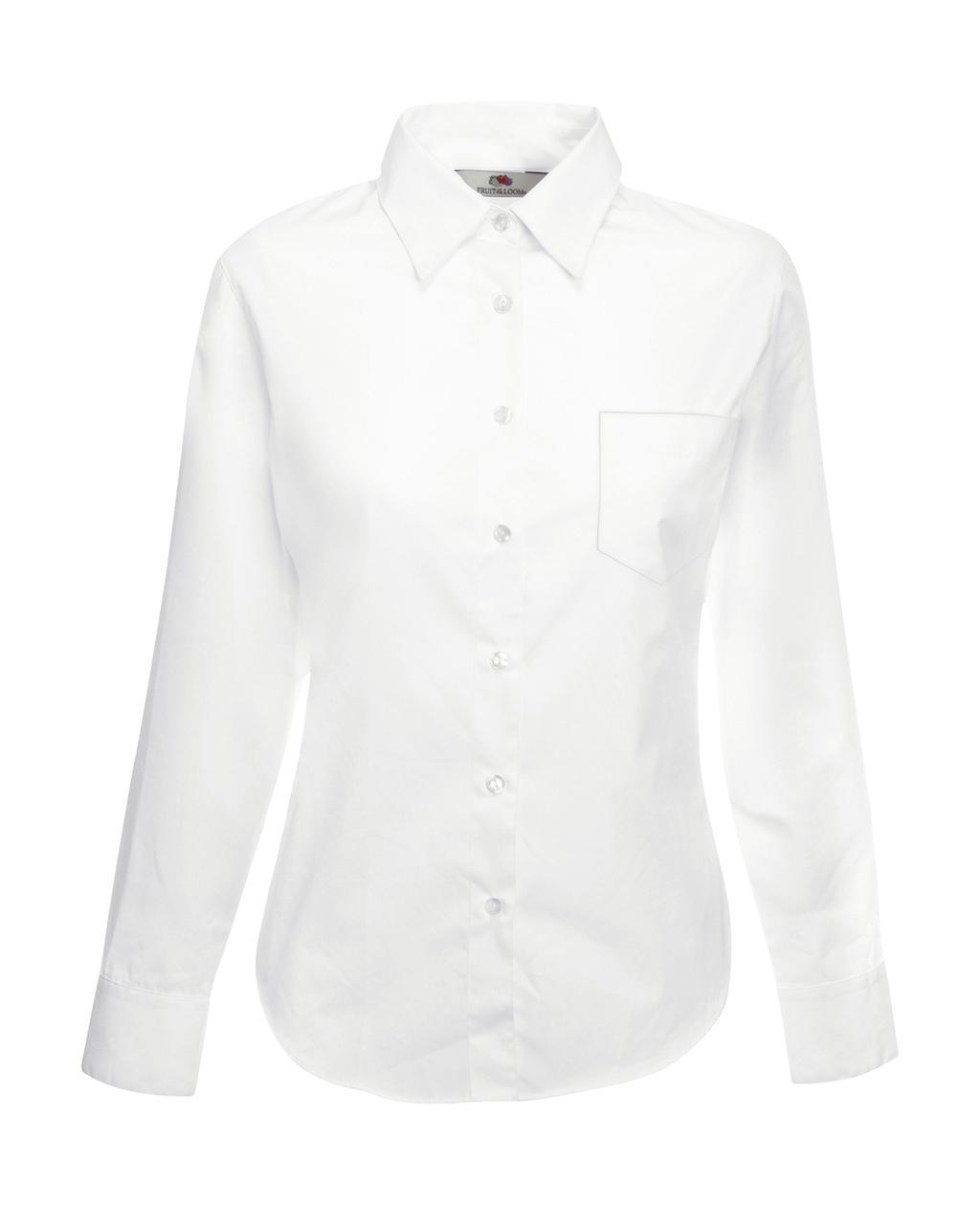 Poplin Shirt LS Lady-Fit