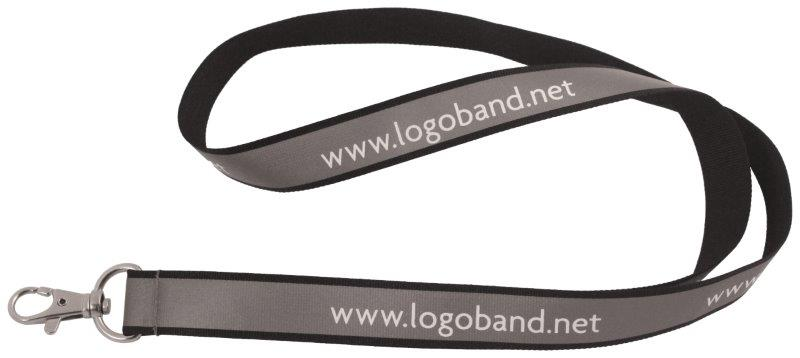 Reflective logoband (15 mm) (Custom made)