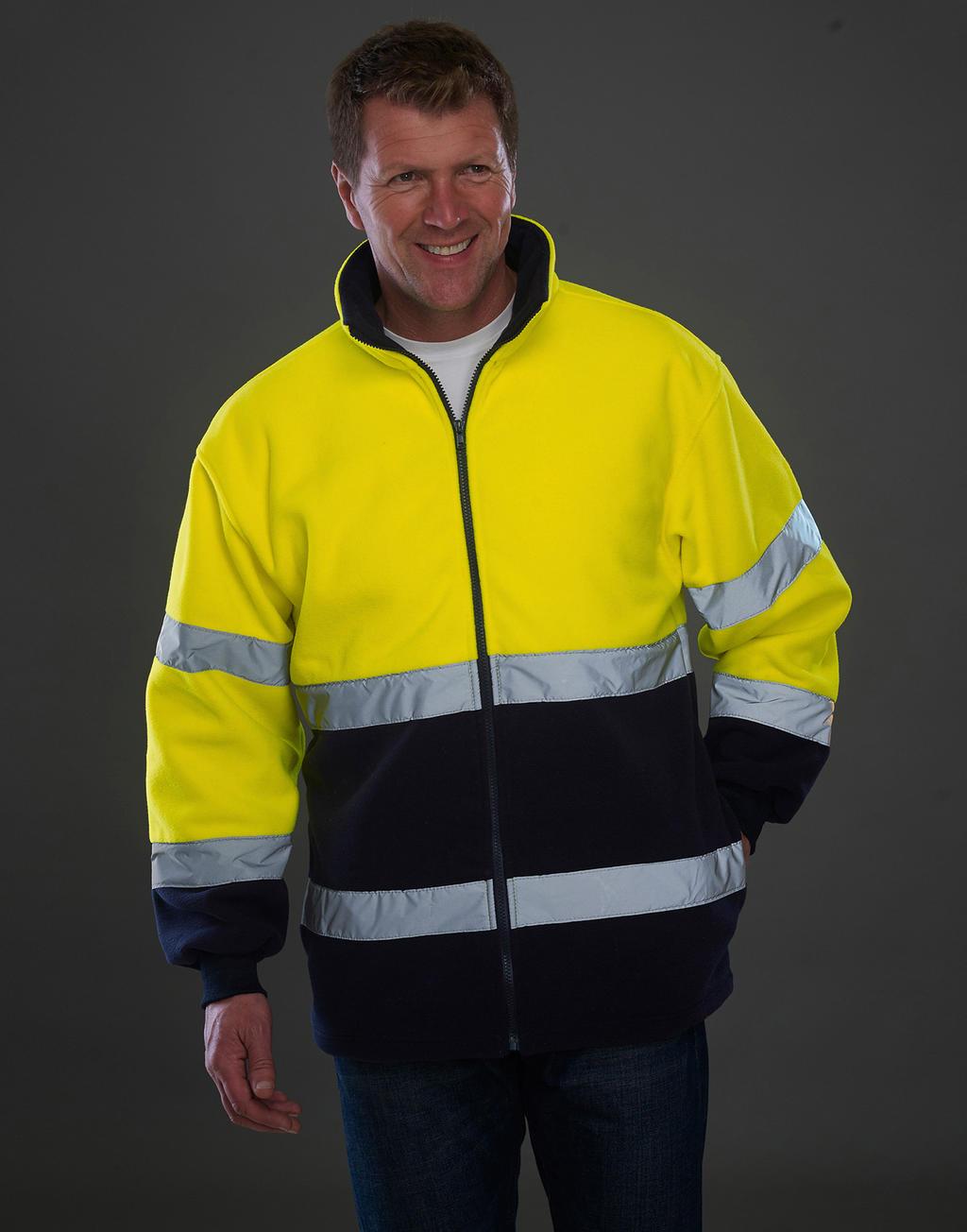 Fluo 2-Tone Fleece Jacket