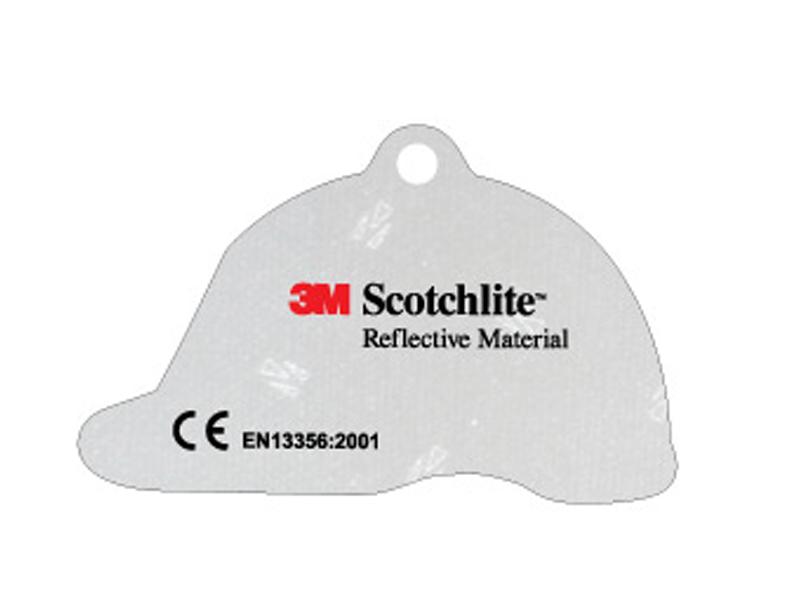 Soft reflector helmet