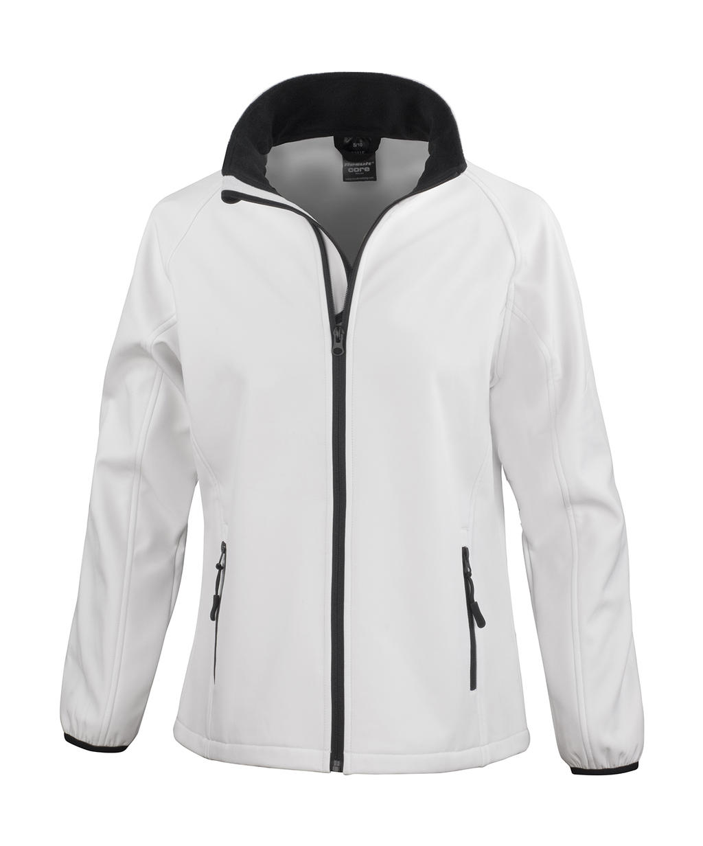Ladies` Printable Softshell Jacket