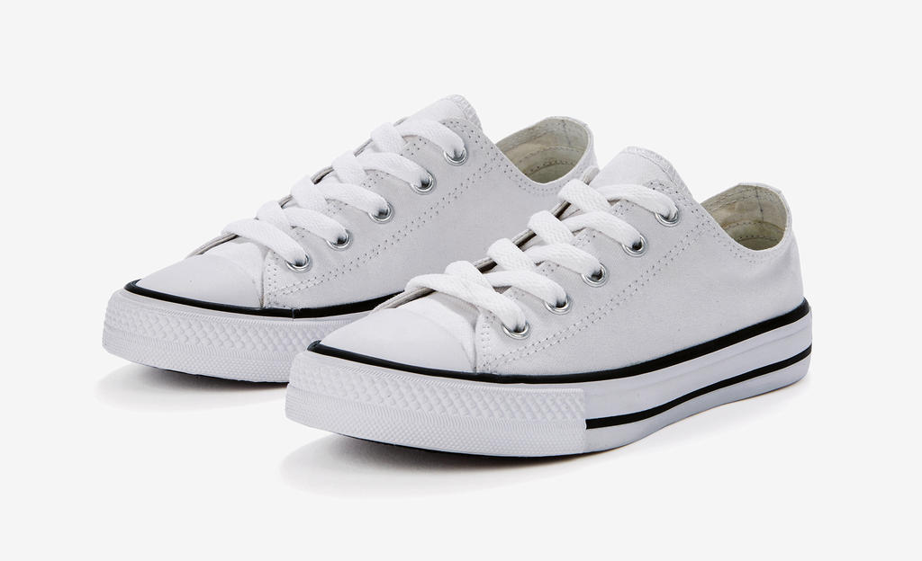 Low Top Printable Canvas Shoe/Junior