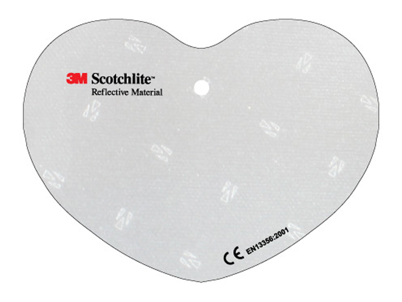 Soft reflector heart (Custom made)