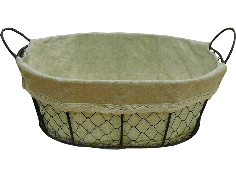 Metal basket Carina