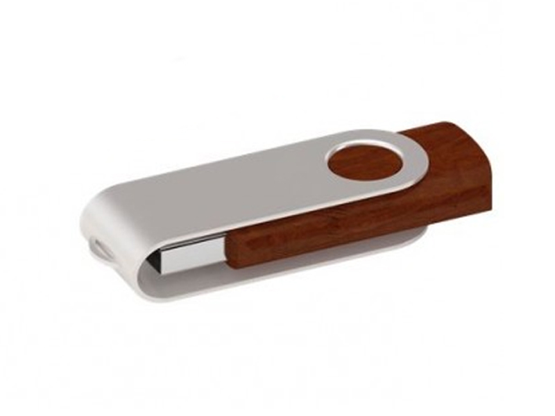 Twister USB 2.0 Wood