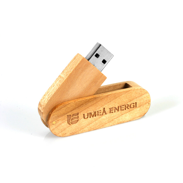 Twister Wood  with wood arm USB 2.0