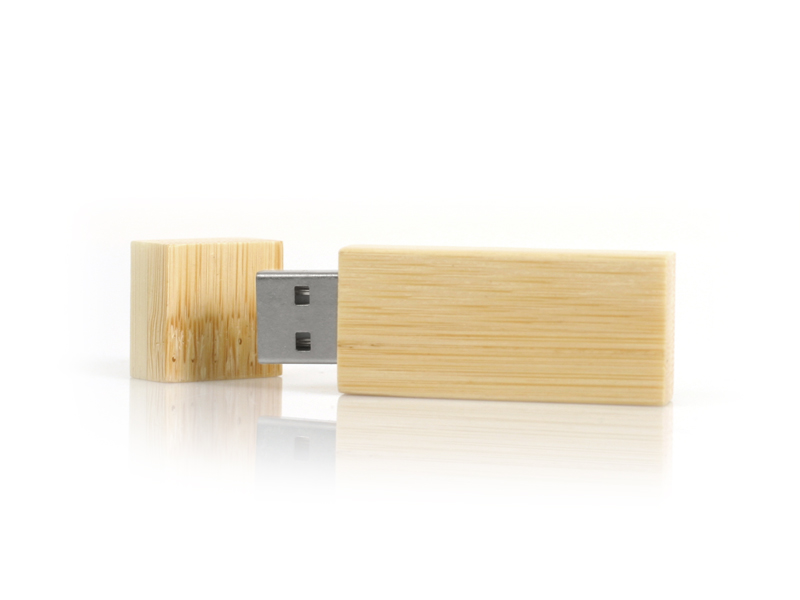 Rektangle Wood USB 2.0 (Custom made)