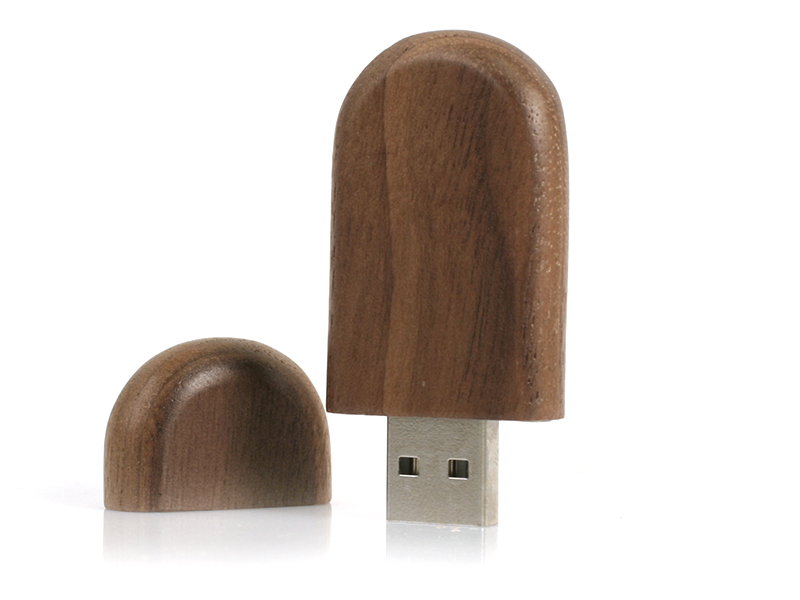 Oval Wood   USB 2.0 (Custom made)