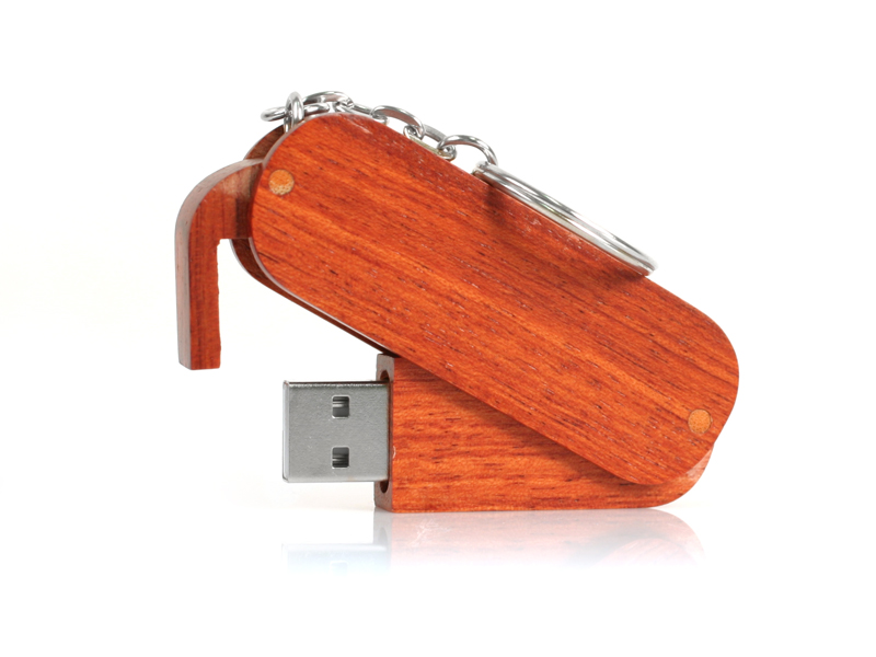 Twister Wood  with wood arm USB 2.0 (Specialproduktion)