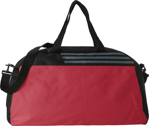 Polyester (600D ripstop) sports bag