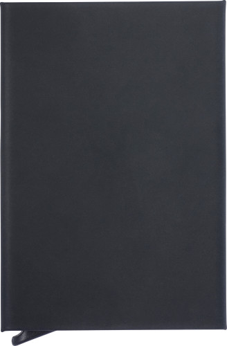 Aluminium RFID soft touch card holder