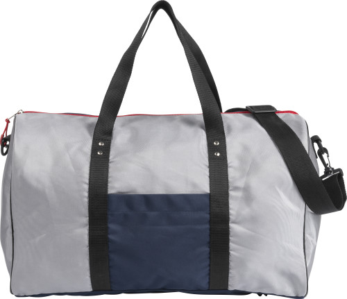 Polyester (210D) sports bag