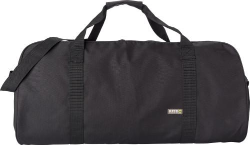 Polyester (600D) RFID sports bag