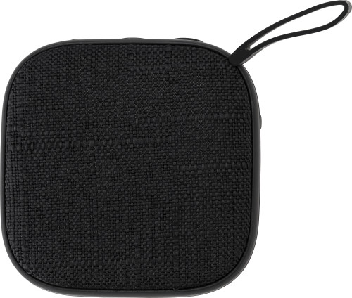 ABS wireless speaker with linen